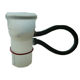 Non-Return Valve and PVC Adapter