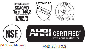 TK-510U Certifications